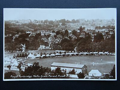 Kent ROYAL TUNBRIDGE WELLS & CRICKET GROUND from Forest Rd c1930's RP Postcard