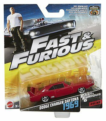 Fast & Furious F8 Die Cast Vehicle Dodge Charger Daytona 1969 number 29 of 32