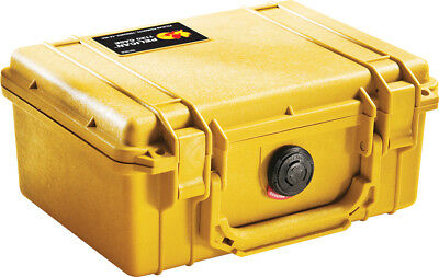Pelican 1150 Case With Liner and Foam - Yellow
