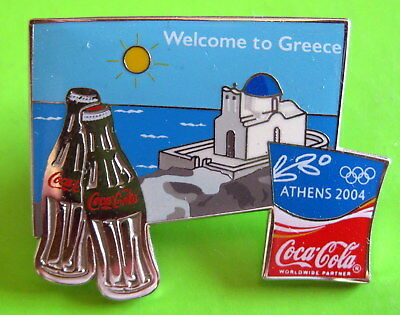 Olympic Games Athens 2004 - Coca Cola Badge