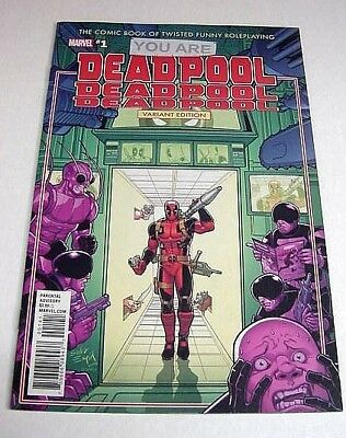 You Are Deadpool #1 Espin Rpg Variant Marvel Comics $3 Flat Shipping!