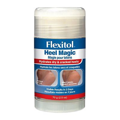 Flexitol Heel Magic for Dry Rough Cracked Heel Skin 70g - Last Remaining Stock !