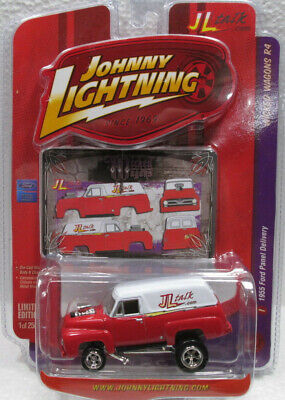 1955 FORD PANEL DELIVERY LIMITED EDITION 1 of 2500 MINT ON CARD JOHNNY LIGHTNING