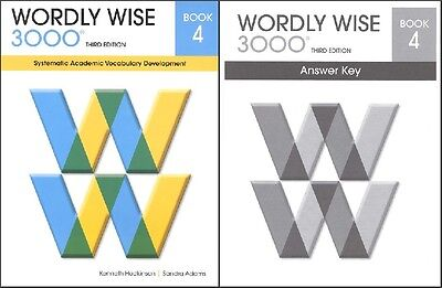 Wordly wise 3000 grade 4 set student and key new 3rd edition wordly wise 3000 grade 4 set student and key new 3rd edition fandeluxe Image collections