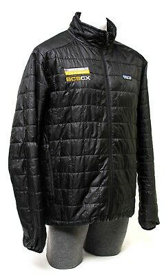 Patagonia Men Down Sweater Jacket Coat Insulated Hiking Camping Large Black
