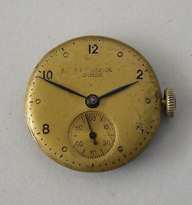 Longines 8LN Movement Working Dial Hands Crown 1946 Longines 8LN Funciona