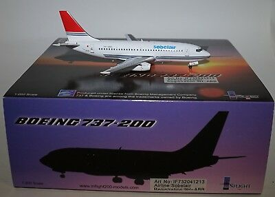 Inflight 200 IF732041213 Boeing 737-2YS Sobelair 9H-ABB in 1:200 limited to 90