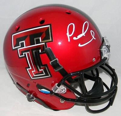 Patrick Mahomes Signed Autographed Texas Tech Red Raiders Full Size Helmet  Jsa 448a37d8f