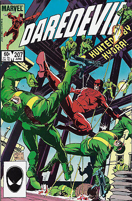 DAREDEVIL #207  Jun 1984