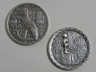 1/2 oz Silver Round - Bastet Egyptian Cat - Monarch Metals MPM