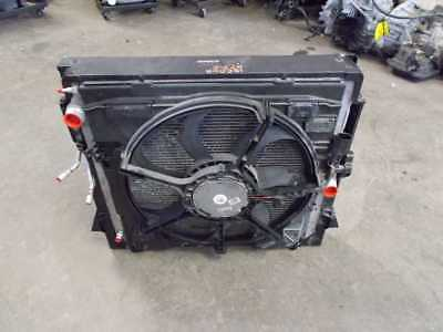 07 08 09 10 Bmw X5 E70 Radiator Fan Assembly Ac Condenser Shroud 4.8L Complete