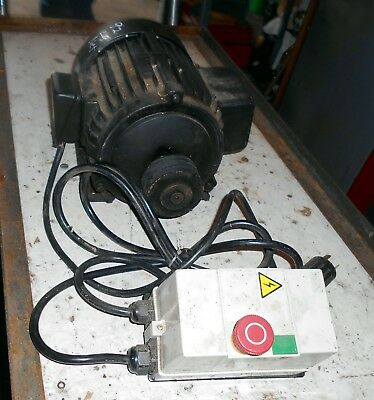 Grizzly New Take Off 5 Hp Motor Package G0454 (Planer)