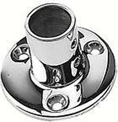 Seachoice 37811 90deg Round Base Fitting 78 Stainless Steel Lc