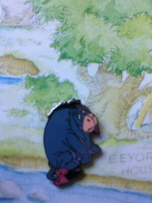 Disney DLR GWP Pooh 100 Acres Woods Map Pin - Eeyore