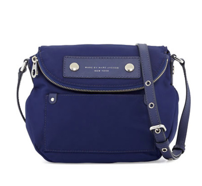 0cf55d9c0d35 MARC by Marc Jacobs Preppy Nylon Mini Natasha Crossbody Bag Purse Shoulder  Tote