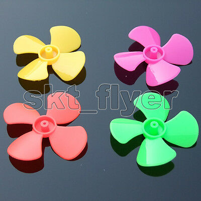 6 Colors 56*2mm Propeller Model Paddle Blade Car Boat Airplanes DIY Motor Part