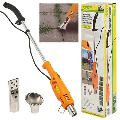 Kinzo 2000w Electric Weed Burner Killer De-icer Eco Friendly, Plug In Garden NEW