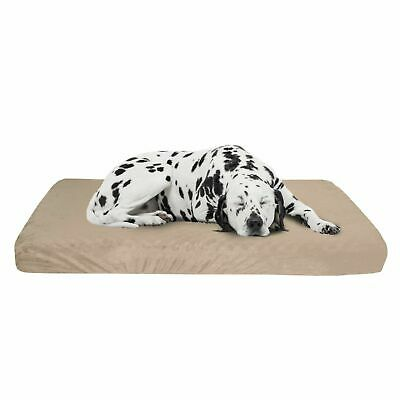 Extra Large Jumbo Orthopedic Memory Foam Dog Bed With Removable Cover 46 x 27