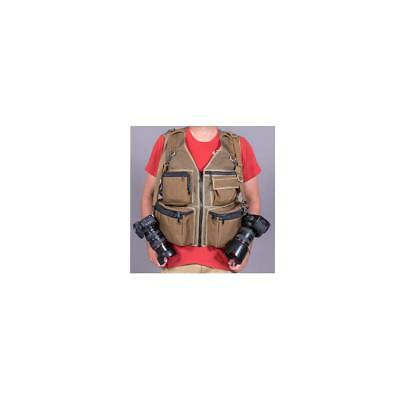 The Vest Guy MM Travel Photography Vest, X-Large, Coyote Mesh #500016XLRGCOY