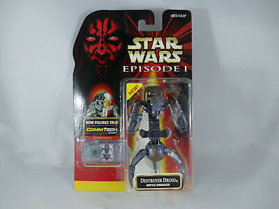 Es1 Star Wars Episode 1 Destroyer Droid Battle Damaged Moc