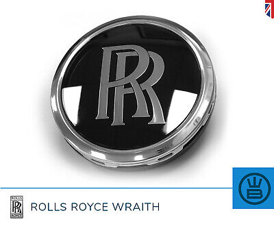 ROLLS ROYCE WRAITH alloy wheel center cap replacement self leveling RR GENUINE