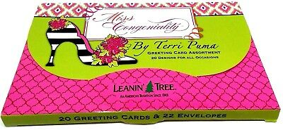 Leanin Tree Congeniality 20 Greeting Cards Assortment For All Occasions #286775