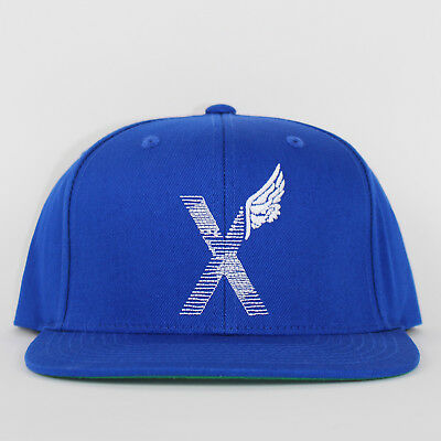 10 Deep x Starter World Wing Snapback Blue Flat Cap