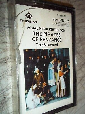 Brand New Sealed Rare Vocal Highlights The Pirates Of Penzance Cassette 212-0930