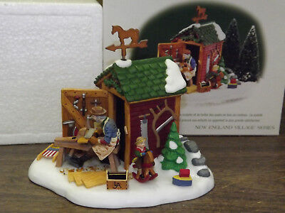 Dept 56 New England Village The Woodworker #56619