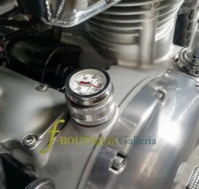 Oil Temperature Gauge thermometer for KAWASAKI W800 W650 W400 engine *made in EU