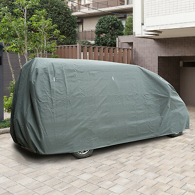 21ft 3 Layer Caravan Cover Large Vehicle Cover Water Resistant Breathable Grey