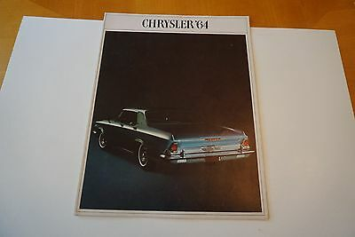 1964 1968 1969 Chrysler 300 New Yorker Imperial Sedan Coupe Auto Brochures VG+