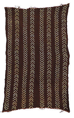 Mudcloth Textile Handwoven Mali African Art