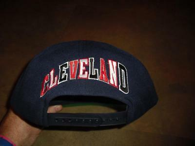 b75d2a8433ab2 Cleveland Indians hat Snapback vintage 90s Chief Wahoo front logo The G Cap  nwot