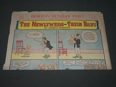 1907 September 1 Boston Sunday Post Color Comics Section - Np 2834