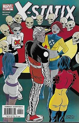 X-Statix No.4 / 2002 Peter Milligan & Mike Allred / Frank Quitely Cover