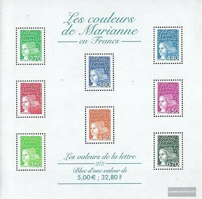 France 3225x II-3243x II Sheetlet (complete.issue.) unmounted mint / never hinge