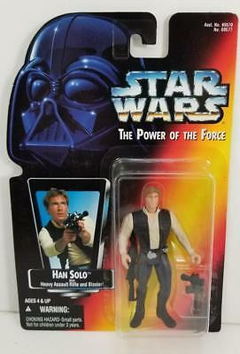Han Solo In Carbonite Block UnOpened Act Fig /'95 Star Wars POTF2 Red Orange Card