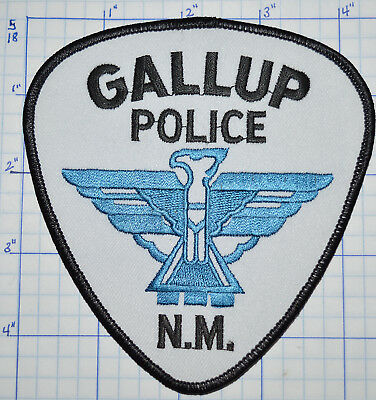 New Mexico, Gallup Police Dept White Patch