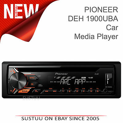 Pioneer Car Stereo with RDS Tuner│1-DIN CD Player│USB│Aux-In│MP3│Android Control