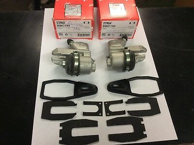 VAUXHALL VIVARO 2001-/> BBK0079A PAIR TRW REAR BRAKE CALIPERS /& BRAKE PADS FITS