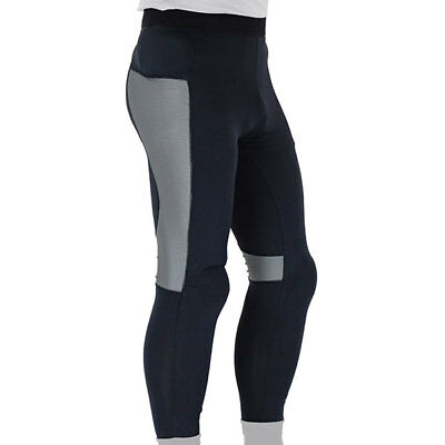 Knox Action Armoured Motorcycle Motorbike Breathable Base Layer Pants - Black