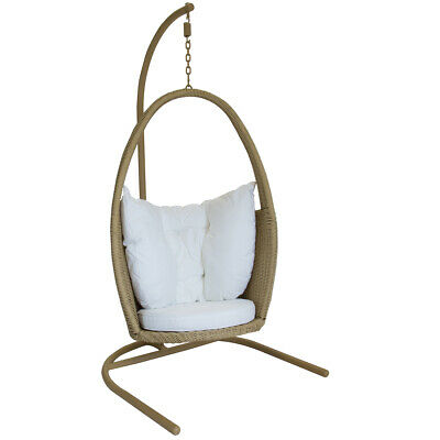 Charles Bentley Open Top Rattan Swing Chair
