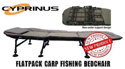 Cyprinus™ Flatpack Carp Fishing Bedchair - New firm design