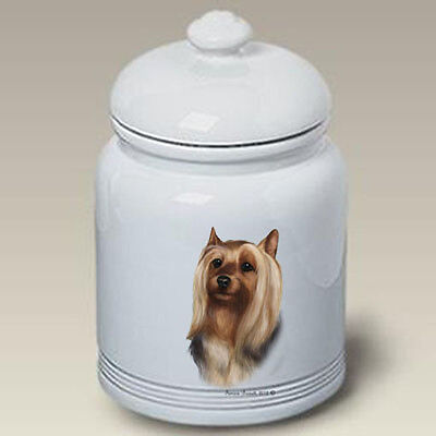 Ceramic Treat Cookie Jar - Silky Terrier (TB) 34102