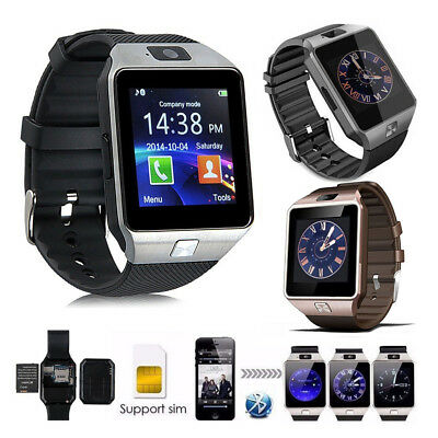 DZ09 Bluetooth Smart Watch Camera Watches SIM Slot For Samsung Android Phone