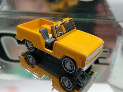 1967 Ford Bronco Canary Yellow Adult Collectible Diecast 1/64 Limited Edition