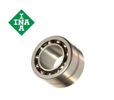 INA - NKIA series Needle Roller/Angular Contact Ball Bearings (Single Direction)