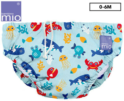 Bambino Mio Reusable Swim Nappies - Deep Sea Blue