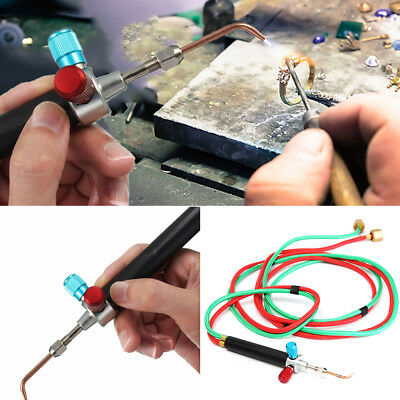 Jewelry Jewelers Micro Mini Gas Little Torch Welding Soldering Kit w/ 5 Tips